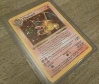 *REPLICA* 1st Edition Pokemon Base Set Shadowless Charizard 4/102 Pokemon Card