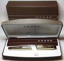 Cross Townsend 10K Gold Filled Roller Ball Pen #705 SP New in Box Product
