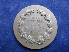 Medaille 3.Preis Reiter Sportfest A.R. Gravenstein 1.6.41  Patrouillenritt