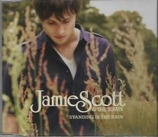 JAMES SCOTT & THE TOWN Standing in the rain    4 TRACK CD NEW - NOT SEALED