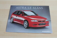 121309) Opel Astra Le Mans - Irmscher - Prospekt 05/1992