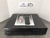 Yamaha CDC-98 5 CD Compact Disc Changer/Player W/Remote, Manual - Serviced!