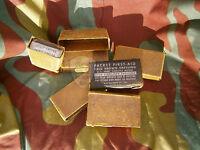 Pacchetto primo soccorso M42 originale medicamento US, first aid packet Army WW2