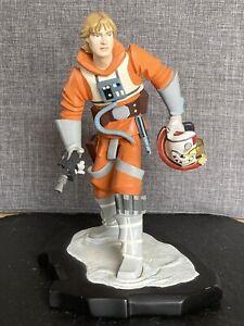 Star Wars Animated Luke Skywalker X-wing Gear Maquette Statue Gentle Giant