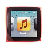 Apple iPod Nano 6th Generation Product Red (8GB) A1366 Tested & Works