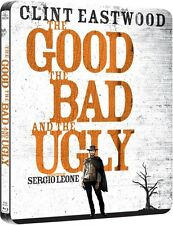 The Good, The Bad And The Ugly Limited Edition Steelbook Blu-ray UK Exclusive