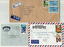 Singapore 10 covers 1971-99 including Registered covers, FDC, Aerogram and other