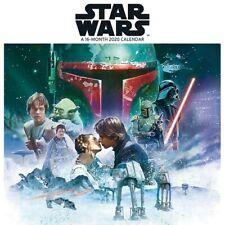 STAR WARS - 2020 MINI WALL CALENDAR -  BRAND NEW - 201062