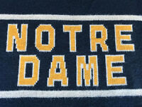 NOTRE DAME FIGHTING IRISH CLIFF ENGLE MEN'S SWEATER - SIZE XL - FREE SHIPPING!!