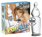 Condones potenciación condones Secura Potencia 24 piezas