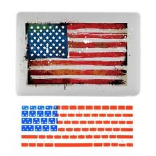 "United States Flag Hard Case + Keyboard Covers for MacBook Pro 13"" Model: A"