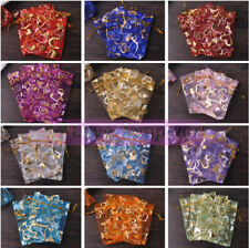 7/12/15cm Organza Wedding Party Favor Decoration Gift Candy Sheer Bags Pouches