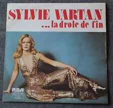 Sylvie Vartan, le drole de fin / tu ne me parles plus d'amour, SP - 45 tours