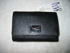 New Women's Black Faux Leather Wallet By Nine & Co