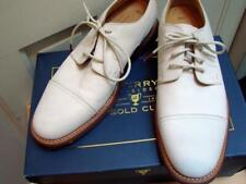 Sperry Topsiders 10 Gold Cup NEW Bellingham Ivory Cap Toe Leather Shoes Lambskin
