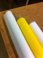 "Sefar brand 1 yard - 156 White x 53"" Width Silk Screen Printing Mesh Fabric"