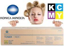 Konica Minolta Genuine TN613Y Yellow Copier Toner Cartridge TN-613Y 613 A0TM230
