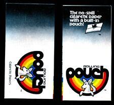 Pouch - Vintage Cigarette Rolling Papers Lot RARE