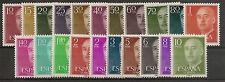 Edifil 1143/1163*  Franco   1955-1956  Serie básica completa   NL432