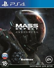 *NEW* Mass Effect Andromeda (PS4, 2017) En,Russian,German,French,Italian,Spanish