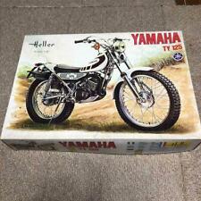 Heller YAMAHA TY125 1/8 Model Kit #14984