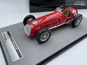 FERRARI 125 F1 race car Alberto Ascari Swiss GP 1950 1:18 Tecnomodel TM18-149B