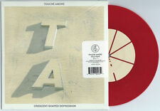 """Touche Amore/Title Fight """"split"""" 7"""" Red The Wonder Years Tigers Jaw La Dispute"""