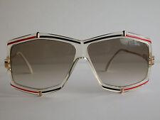Cazal Vintage Eyeglasses - NOS - Model 863 - Col. 610 - Gold, Black & Red