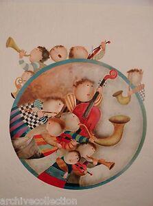 Graciela Rodo Boulanger Rondeau Bleu Lithograph Artwork