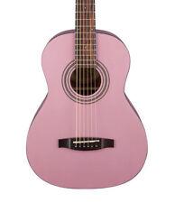 Guitares acoustiques roses