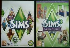 The sims 3 & Master Suite Stuff PC/MAC