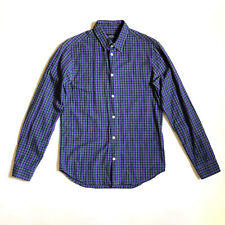 APC!!! Smart 'APC' men's long sleeved, button front plaid shirt
