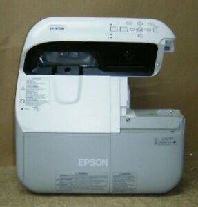 EPSON EB-475Wi 3LCD HDMI PROJECTOR - LAMP HOURS USED 802 / 3000