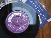 LORRAE DESMOND & REBELS - DING DONG ROCK A BILLY WEDDIN'   HMV R4362 / 1957 EX/+