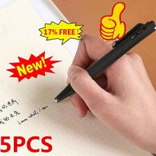 5pcs Black Gel Pen Student Stationery School Office Sign pen