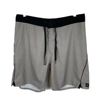 Ripcurl Mens Board Shorts Size 34 Swim Shorts Good Condition Zip Pocket