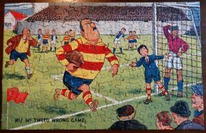 Waddington's Eagle Comic vintage jig-saw puzzle