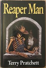 US Reaper Man Signed By Terry Pratchett First Edition Hardback ROC 1991