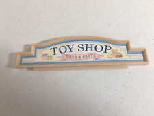 Calico critters/sylvanian families Toy Shop Sign