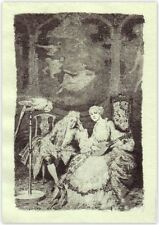 NORMAN LINDSAY  'MARGOT'  1928  ORIGINAL LIMITED EDITION OF 550