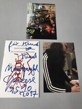Jonathan Meese in-persona SIGNED LIM. LIBRETTO d'arte (48/400) 10x16,5 AUTOGRAFO + FOTO