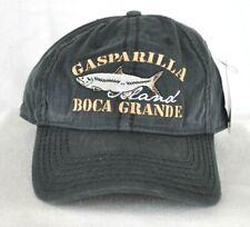 *GASPARILLA ISLAND BOCA GRANDE FLORIDA* Tarpon Fly Fishing Ball cap hat *OURAY*