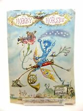 HOBBY HORSES WITH RIDERS BY GUINNESS - Penn, Stanley. Illus. by Emett, Rowland