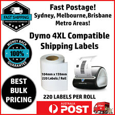 Compatible Dymo 4XL LabelWriter S0904980 Shipping Labels 104x159mm Free Postage