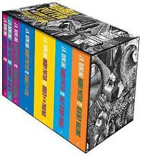 NEW Harry Potter Complete Paperback Box Set Adult Editions By J.K. Rowling