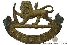 Original Rhodesian Army General Service Cap Badge - Rhodesia Regiment