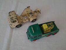 Lot de 2 Camions - 1 épave toupie béton Joal + 1 épave Foden Matchbox