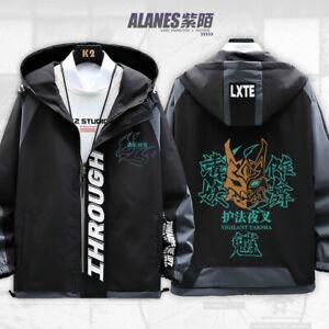 Genshin Impact Xiao Cosplay Coats Jackets Hoodie Casual Long sleeve Unisex