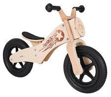 BIKESTAR® Holz Kinderlaufrad Motorrad ab 3 Jahren ★ 12er Chopper ★ Woody Rocker
