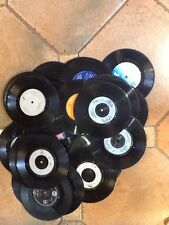 """Job lot  75 X 7"""" vinyl records for up-cycling Craft Hobbies Etc Free Post"""